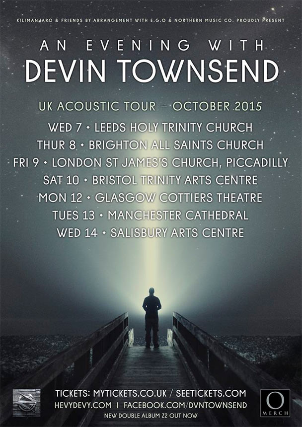 Devin Townsend – Acoustic / Spoken Word Set | The Circle Pit