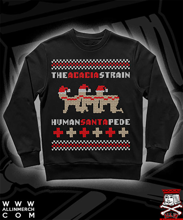 Band Ugly Christmas Sweaters.The Ugly Christmas Sweaters Of Metal The Circle Pit