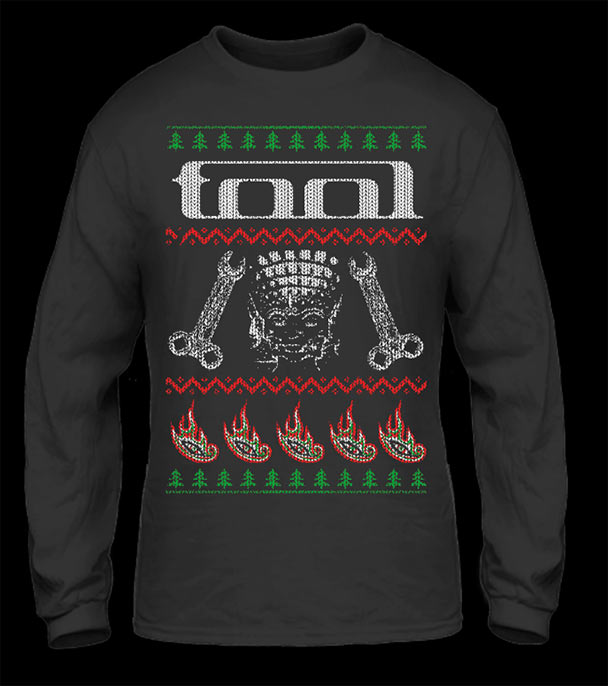 uglychristmas7 - Metal Christmas Sweater