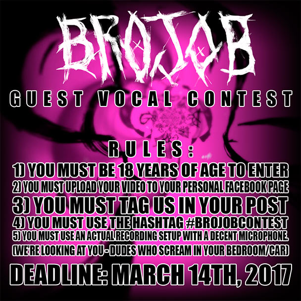 brojob guest vocal contest the circle pit