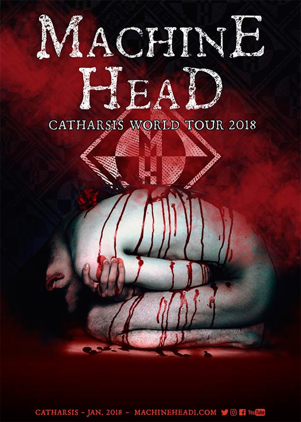 machine head catharsis world tour the circle pit. Black Bedroom Furniture Sets. Home Design Ideas