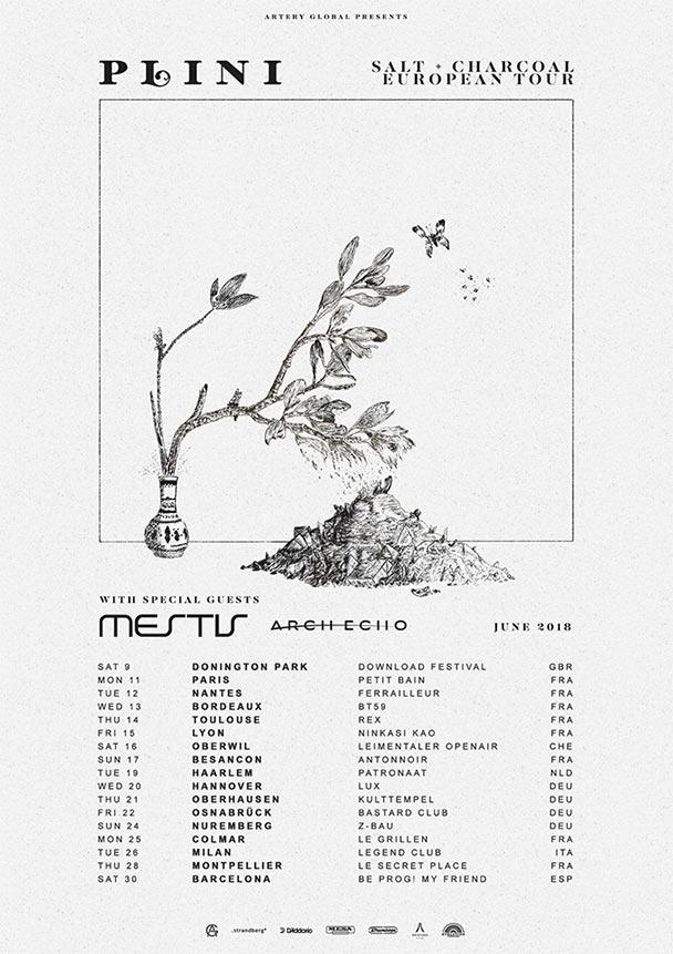 Plini, Mestis, Arch Echo European Tour | The Circle Pit